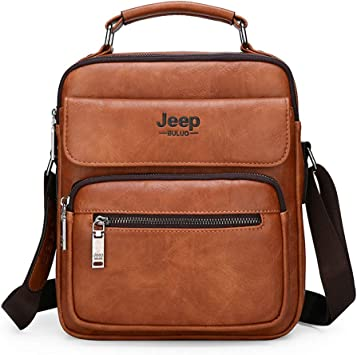 HOT Retro Men/'s faux Leather Backpack Chest Bag shoulder Messenger Bag