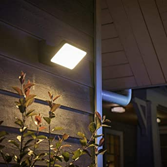 Philips Hue White Welcome - Foco LED para exteriores (intensidad ...