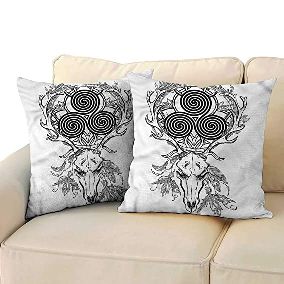 Amazon.com: Godves - Fundas de almohada celtas con diseño de ...