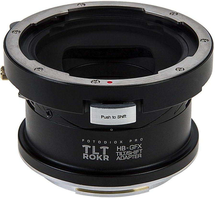 Fotodiox Pro TLT ROKR Tilt//Shift Lens Mount Adapter Compatible with Hasselblad V-Mount SLR Lenses to Fuji G-Mount GFX Mirrorless Camera Body