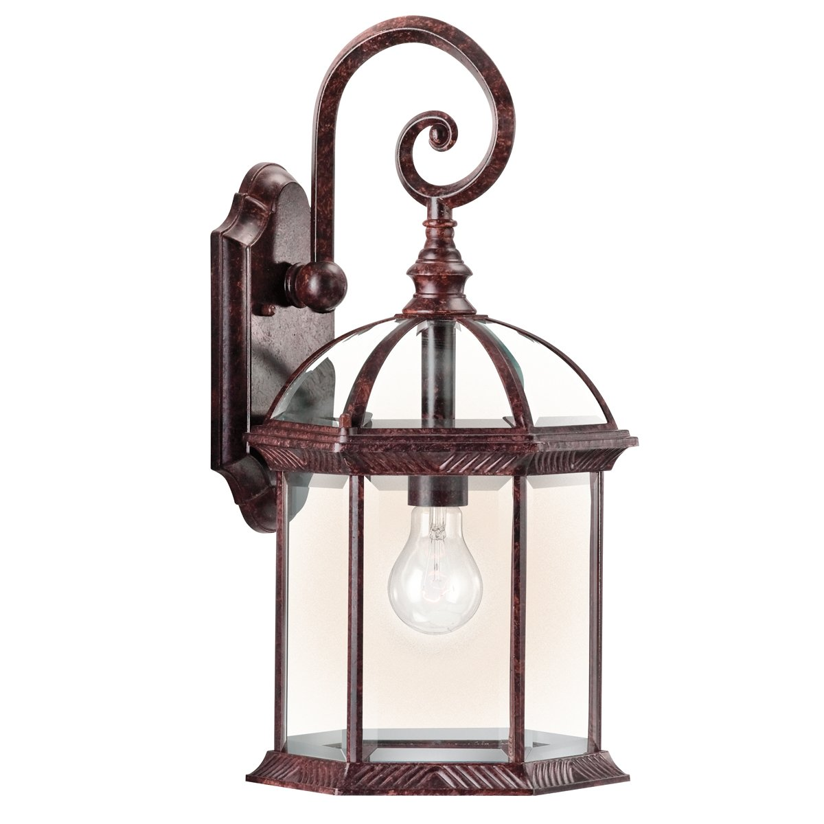Outdoor led wall lantern olde bronze wall porch lights amazon com - Kichler 9735tz Barrie 1 Light Outdoor Wall Lantern Tannery Bronze Wall Porch Lights Amazon Com