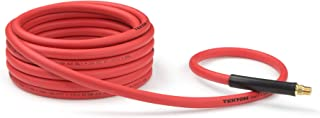 product image for TEKTON 46135 3/8-Inch I.D. by 25-Foot 300 PSI Hybrid Air Hose with 1/4-Inch MPT Ends and Bend Restrictors