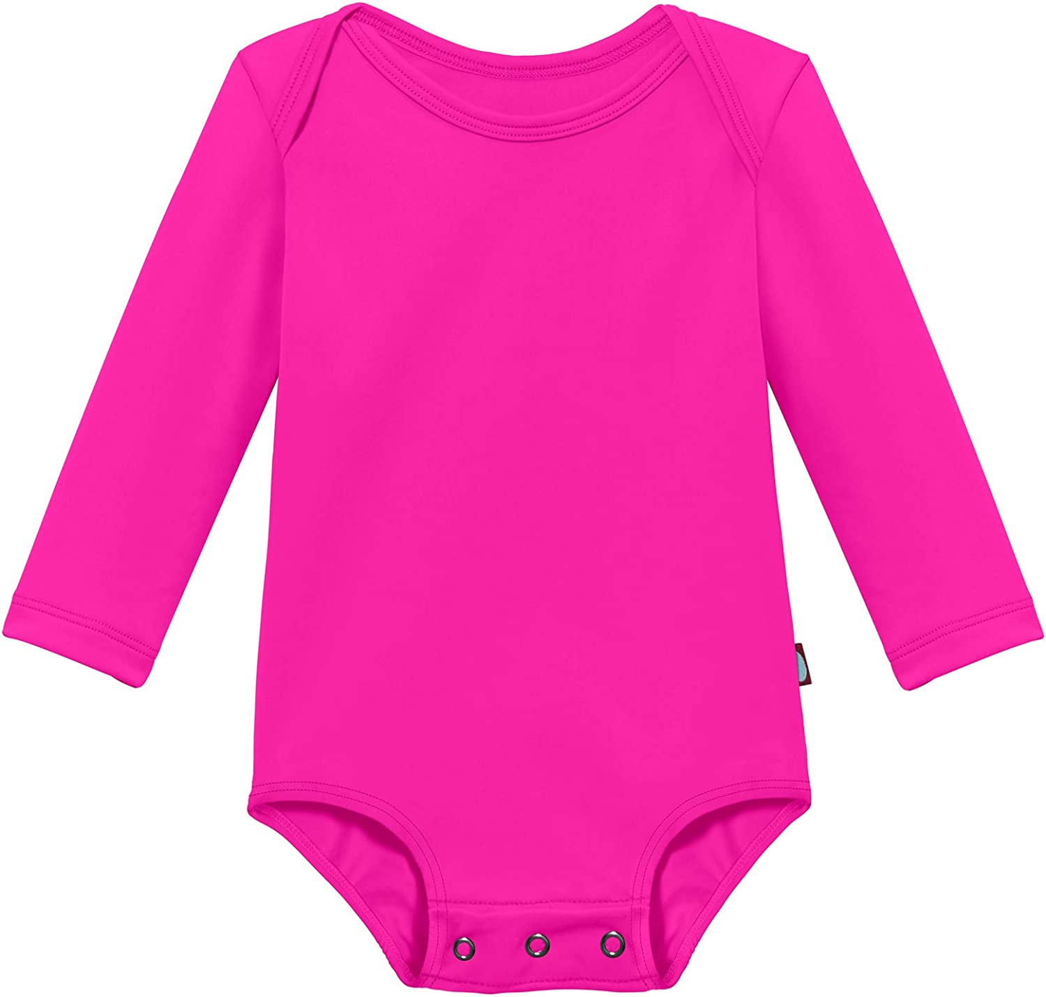 Made in USA City Threads Baby Rash Guard Long Sleeves Sun Protection Beach Wear with UPF50