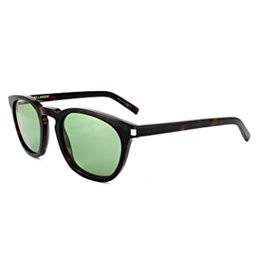69fda1ce00a78 YVES SAINT LAURENT Sunglasses SL 28 S 0TVD Havana 49MM  Amazon.co.uk   Clothing