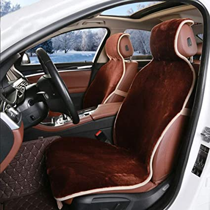 Mayco Bell 2 Front Car Seat Covers Faux Fur Cute Interior Accessories Cushion Cover Styling