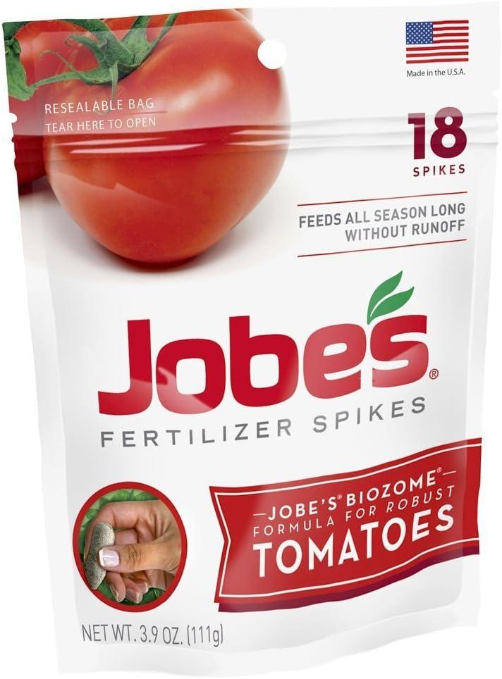 Jobe's Tomato Fertilizer Spikes, 6-18-6