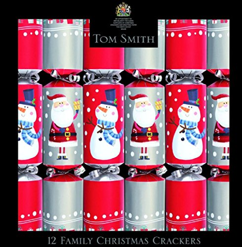 Tom Smith Family Christmas Crackers - (12 x (Halloween Party Crackers)