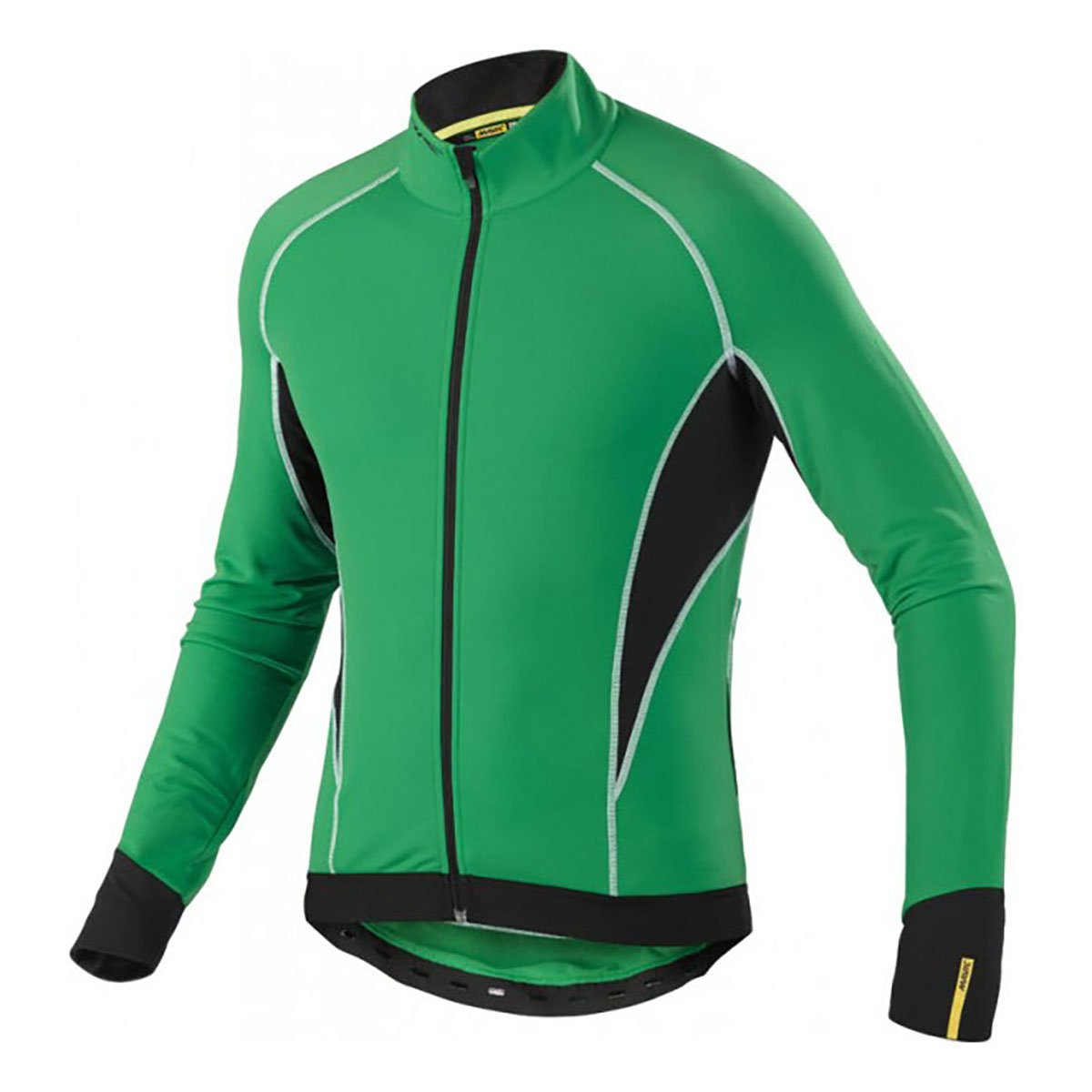 Mavic Cosmic Elite Thermo LS Jersey Athletic Green Small