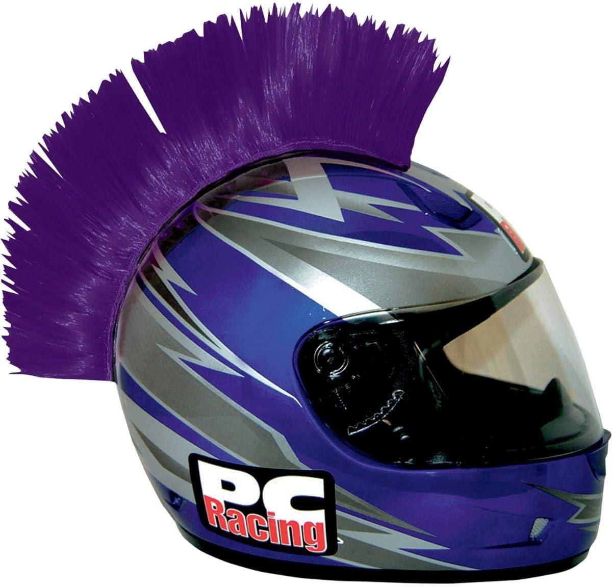 PC Racing PCHMPURPLE Helmet Mohawk Purple