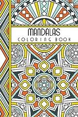 "Mandalas: 4"" x 6"" Pocket Coloring Book Featuring 75 Mandalas for Coloring (Jenean Morrison Adult Coloring Books) Paperback"