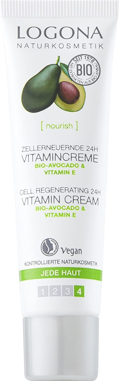 Logona 24horas Regeneradoras vitamina Crema, aguacate 33124