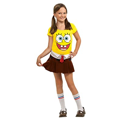 SpongeBob Squarepants Spongebabe Costume - One Color - Small: Toys & Games [5Bkhe0506989]
