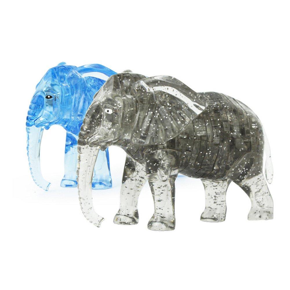 【初売り】 Little Bado 3D puzzles Elephant 2 set Elephant Jigsaw Puzzles Little Puzzles B07DZVLCYH, ナナオシ:2cda4f0e --- 4x4.lt