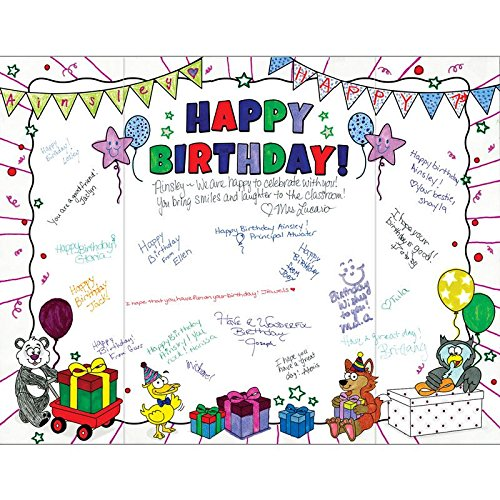 Ready-To-Decorate Birthday Hug Cards - Set of 24 ()