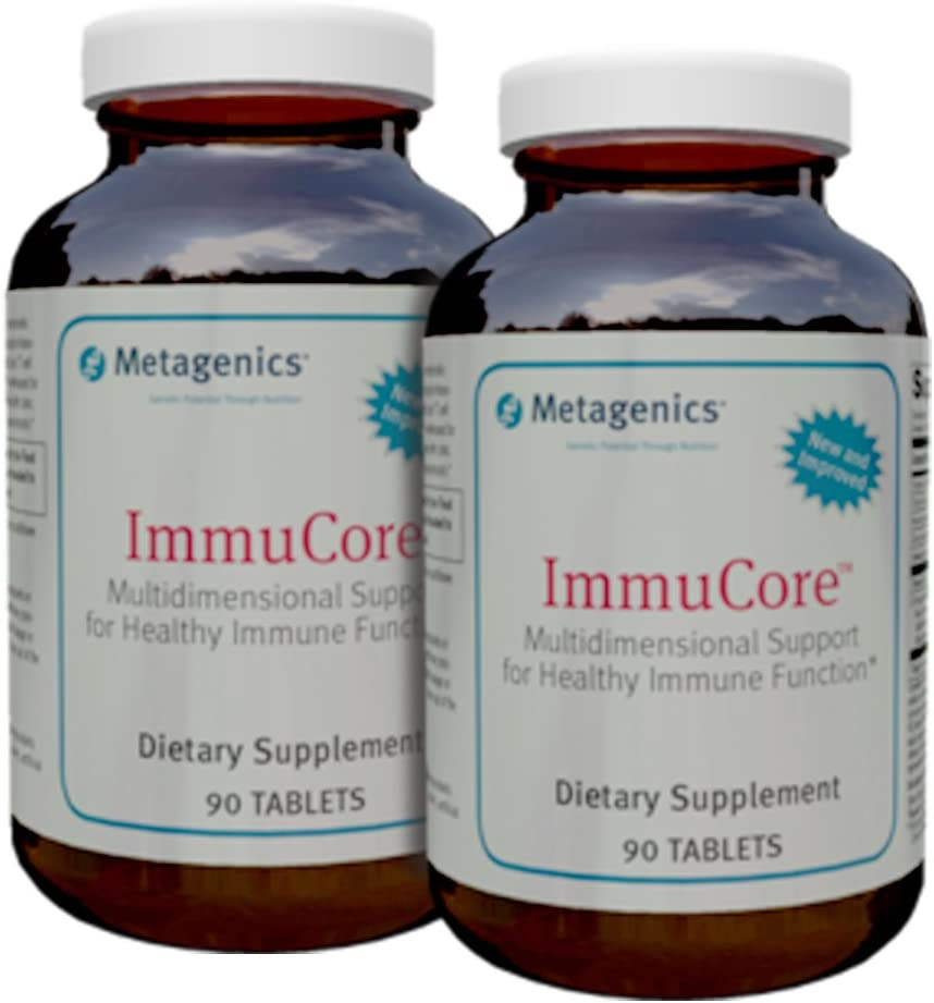 Metagenics Immucore 90 Tabs *New and Improved - TwinPak