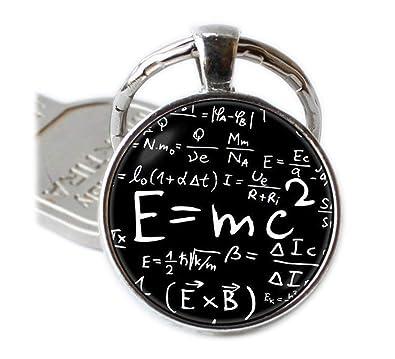 E=MC2 llavero fórmula colgante profesores regalo física ...