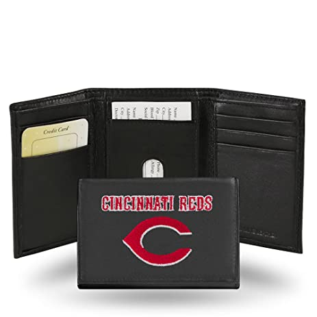 Amazon Cincinnati Reds Embroidery Trifold Wallet Sports