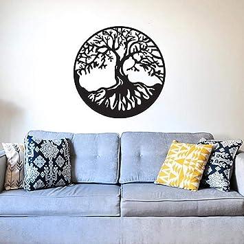 Árbol de la vida etiqueta de la pared de vinilo removible gran ...