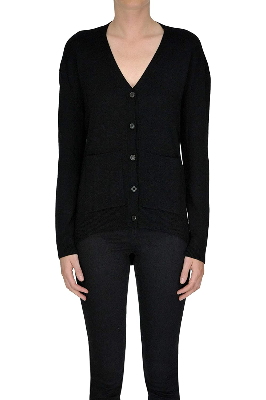 c40c650eaa27 Balenciaga Women s Mcglmgc04003i Black Wool Cardigan  Amazon.co.uk  Clothing