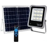 FactorLED ¡NOVEDAD! Foco Proyector Solar LED Regulable con Mando a Distancia, Luz…