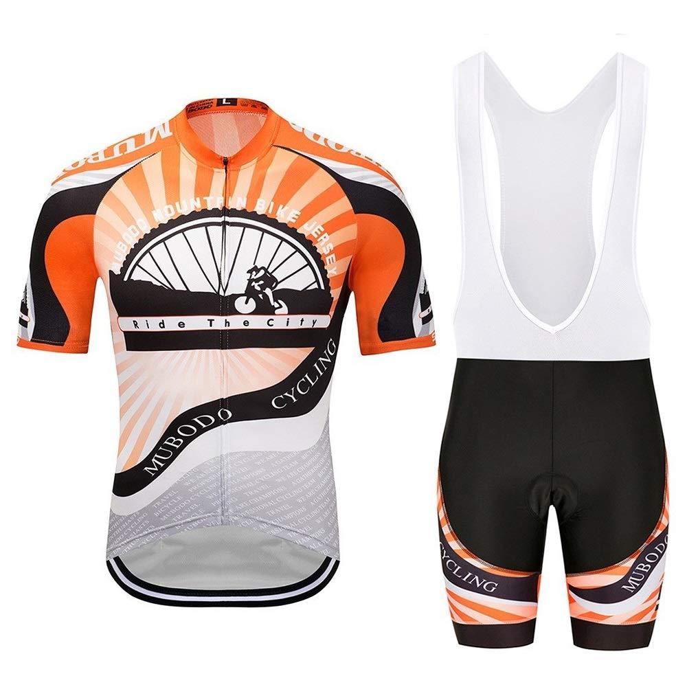 Fahrradanzüge Trapezanzüge Sportbekleidung Schnelltrocknende Kleidung Enges Oberteil Overall Flaschenzug Fahrrad-Reitanzug Fahrrad Trikot LPLHJD