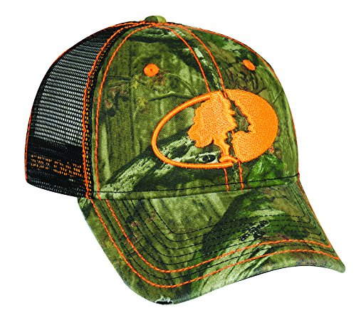 Mossy Oak Adjustable Closure Mesh Back Cap, Mossy Oak Break-Up Infinity Camo/Black by Mossy Oak