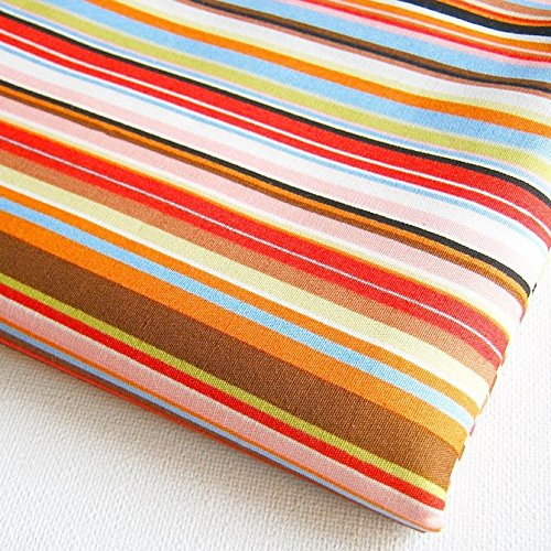 Orange Upholstery Fabric - Np Fabric Stripe Fabric By the Yard (CT060)