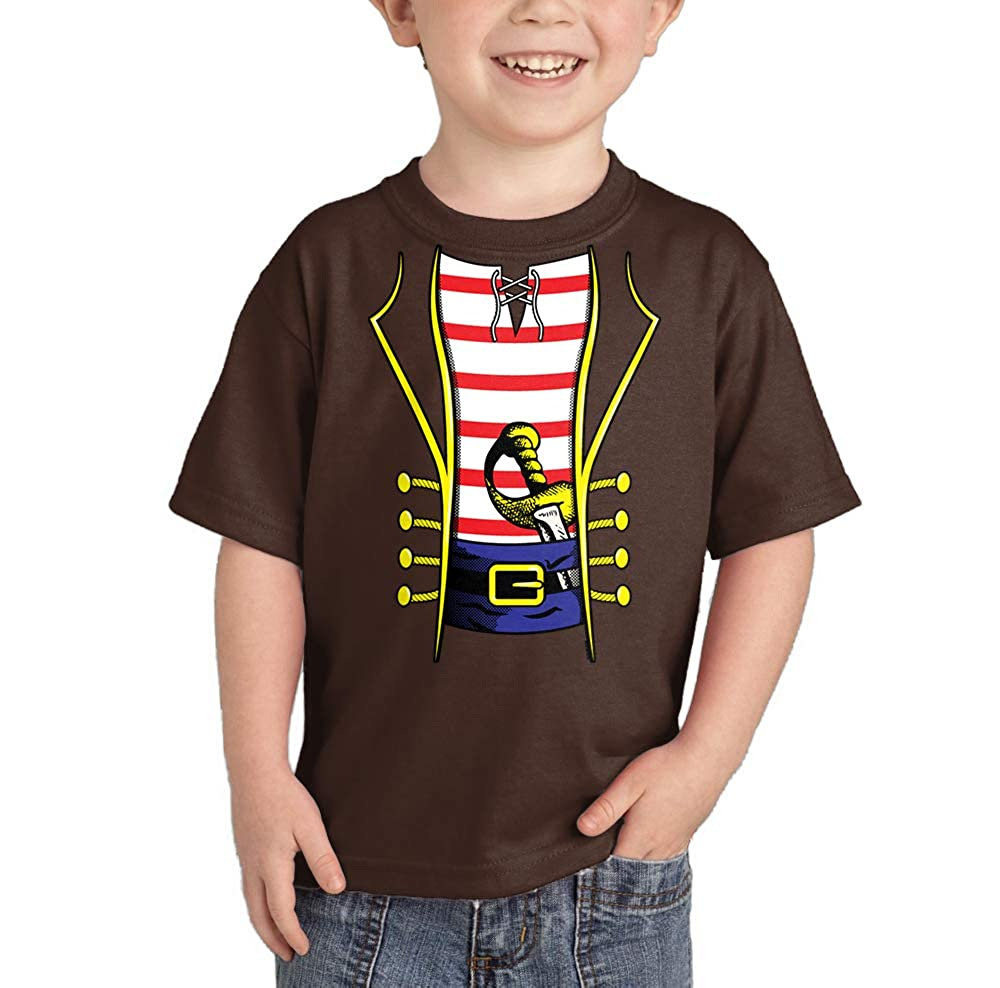 50a7c87a HAASE UNLIMITED Pirate Costume - Swashbuckler Buccaneer Infant/Toddler  Cotton Jersey T-Shirt