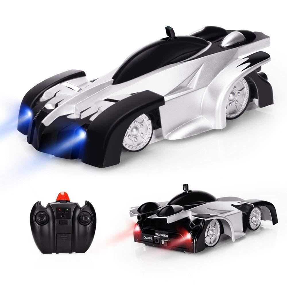 Baztoy Ferngesteuert Auto Fahrzeug Spielzeug für Kinder Jungen Mädchen Dual-Mode-360 ° RC Car mit Fernbedienung-Outdoor Fun-Sportarten Betheaces