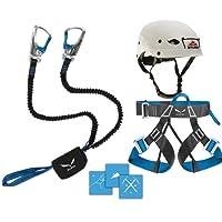 Klettersteigset Salewa Premium Attac 2014 + Gurt Via Ferrata Evo + Helm Stubai Fuse Light