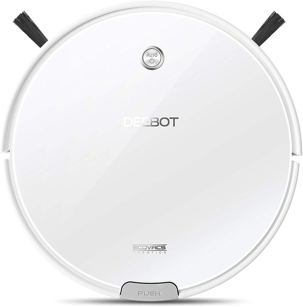 Ecovacs DM82 Robot limpiador de pisos, 11 W, 0.45 litros, 56 Decibelios, Otro, Blanco: Amazon.es: Hogar