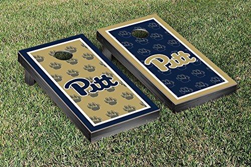 University of Pittsburgh Panthers Regulation Cornhole Game Set Border Version 2