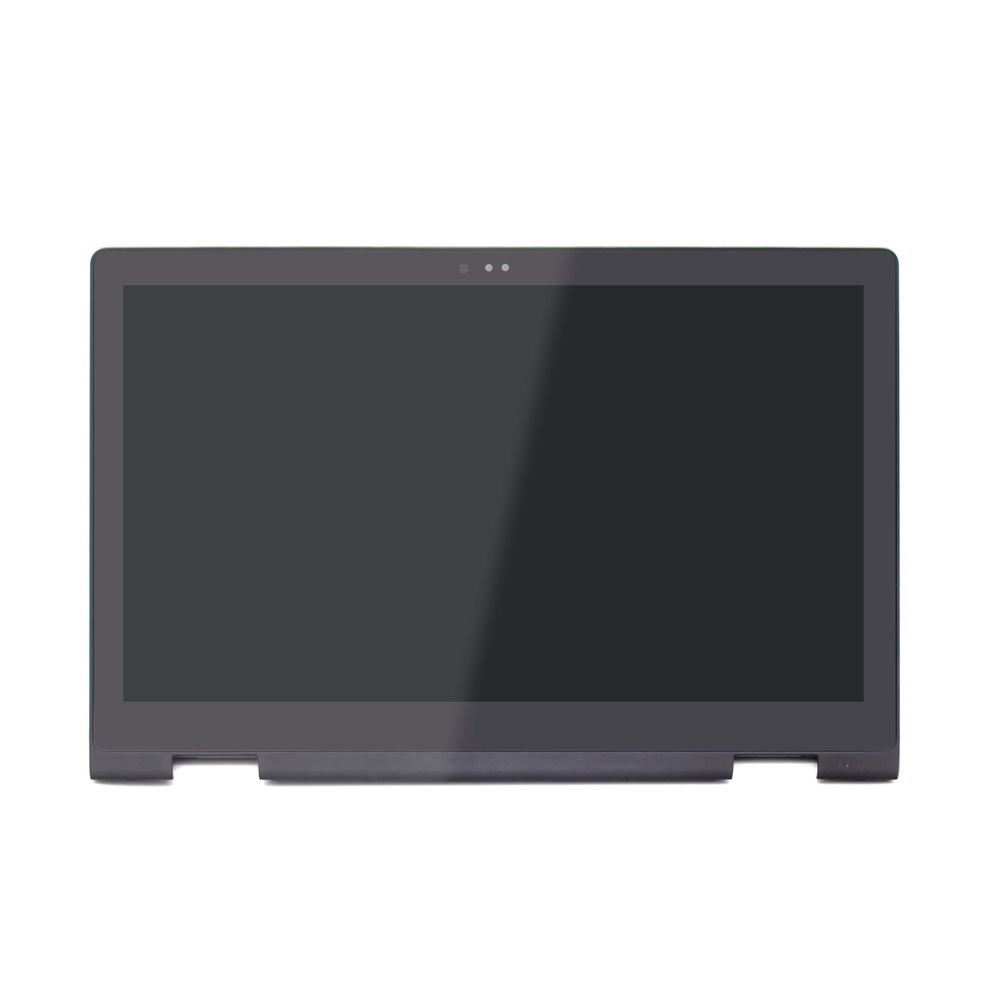 LCDOLED Compatible 13.3 inch FullHD 1080P LP133WF2 L2 LED LCD Display Touch Screen Digitizer Assembly SP Bezel Replacement for Dell Inspiron 13 7000 Series 7347 7348 7359 P57G002
