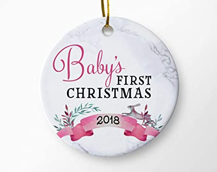 Baby's First Christmas Ornament, Newborn Christmas, Girls Baby Shower Gift, Christmas  Ornaments, - Amazon.com: Baby's First Christmas Ornament, Newborn Christmas
