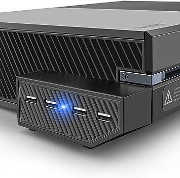 USB Hub for Xbox One – LeSB Negro Central de Expansión de 4 Puertos 2.0 Adaptadores with Indicador LED for Xbox1: Amazon.es: Electrónica