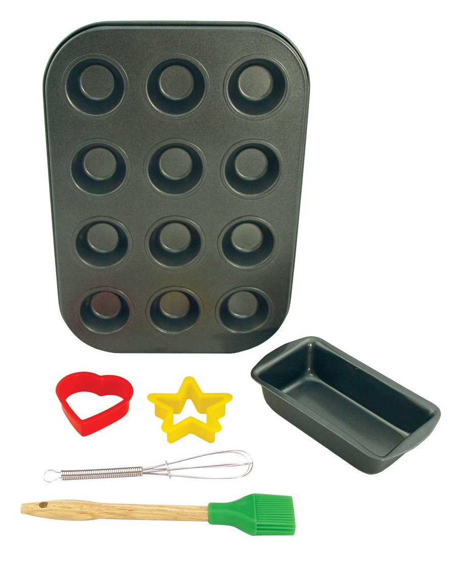 Entemann's ENT39012 6-Piece Kids Baking Set Entemanns Bakeware