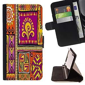 King Case - FOR Apple Iphone 4 / 4S - ?take you far away - Prima caja de la PU billetera de cuero con ranuras para tarjetas, efectivo Compartimiento desmontable y correa para la mu?eca