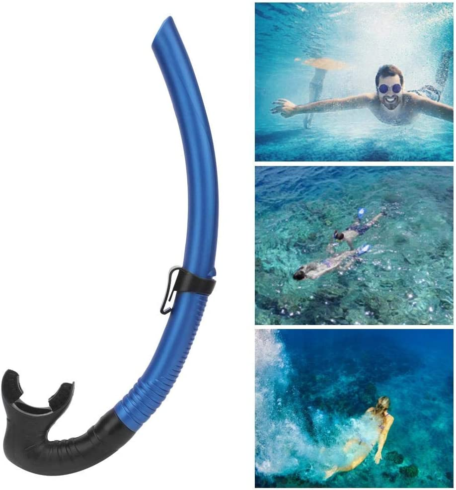 Swim Snorkel Swimming Snorkel Training Swimmers Snorkel Head Snorkel Swiming Gear Swimming Snorkel Diving Breathing Tube Snorkeling Wet Breathing Tube/ Caredy Swim Snorkel