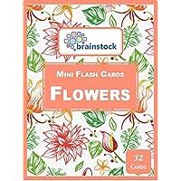 Flowers Mini Flash Cards - Brainstock Flash Cards
