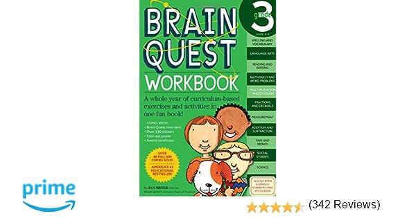 Brain Quest Workbook: Grade 3: Janet A. Meyer: 0019628149169 ...