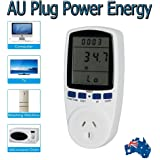Plug Power Meter Energy Voltage Amps Electricity Usage Monitor,Reduce Your Energy Costs AU TS-836A