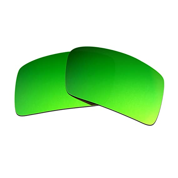 HKUCO Plus Mens Replacement Lenses For Oakley Eyepatch 2 Sunglasses Emerald Green Polarized 1v4Y5aMT