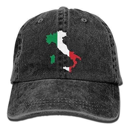 Italia Italy Italian Map Mens&womens Vintage Style Comfortable