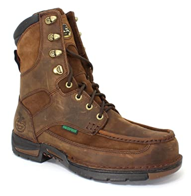 e5622a5bac3 Amazon.com   Georgia Boot Men's Georgia Athens Work Boot Work Shoe ...