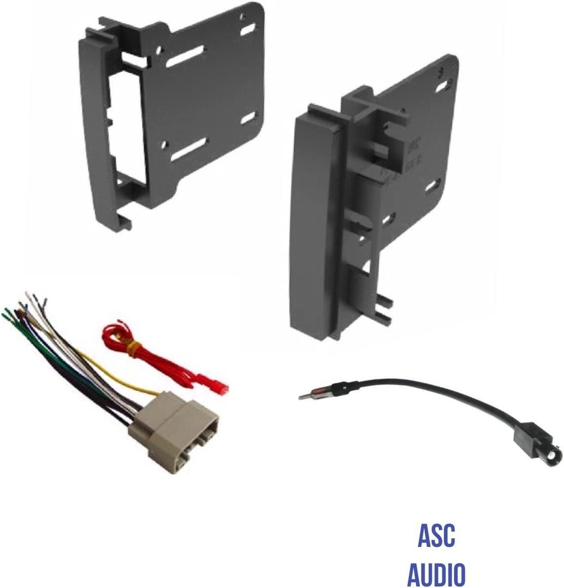 Vehicles listed below Other Wire Harness ASC Audio Car Stereo Radio Install Dash Kit and Antenna Adapter to Add a Double Din Radio for some 2007-2016 Chrysler Dodge Jeep