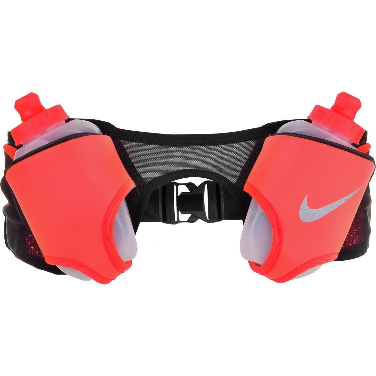 (ナイキ) Nike Double Flask Hydration Beltメンズ バックパック リュック Black/Total Crimson/Silver [並行輸入品]   B0767DKRYB