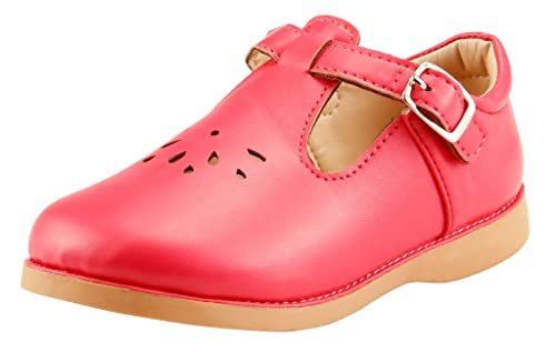 23197bf6d30b0 The Doll Maker Girl's Toddler Little Kids Mary Jane Flat School Dress Shoes