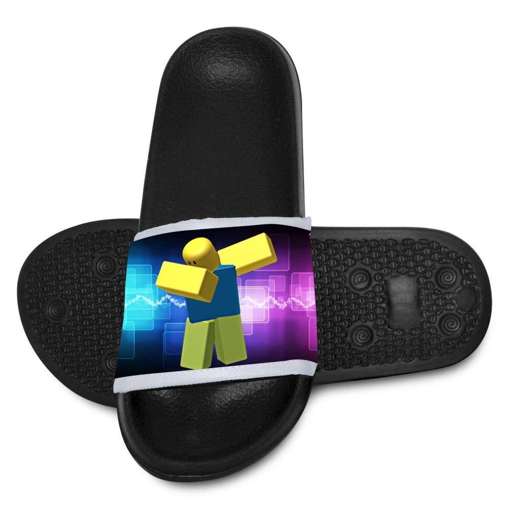 Custom Ro-blox Dabbing Girls Boys Summer Anti-Slip Slide Sandals Kids House Shower Slippers