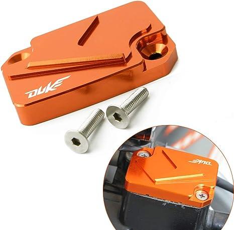 Motorrad Vorderer Bremsflüssigkeit Reservoir Tank Tankdeckel Cover Passend Für K T M Duke 125 200 390 Rc125 200 Rc390 Auto