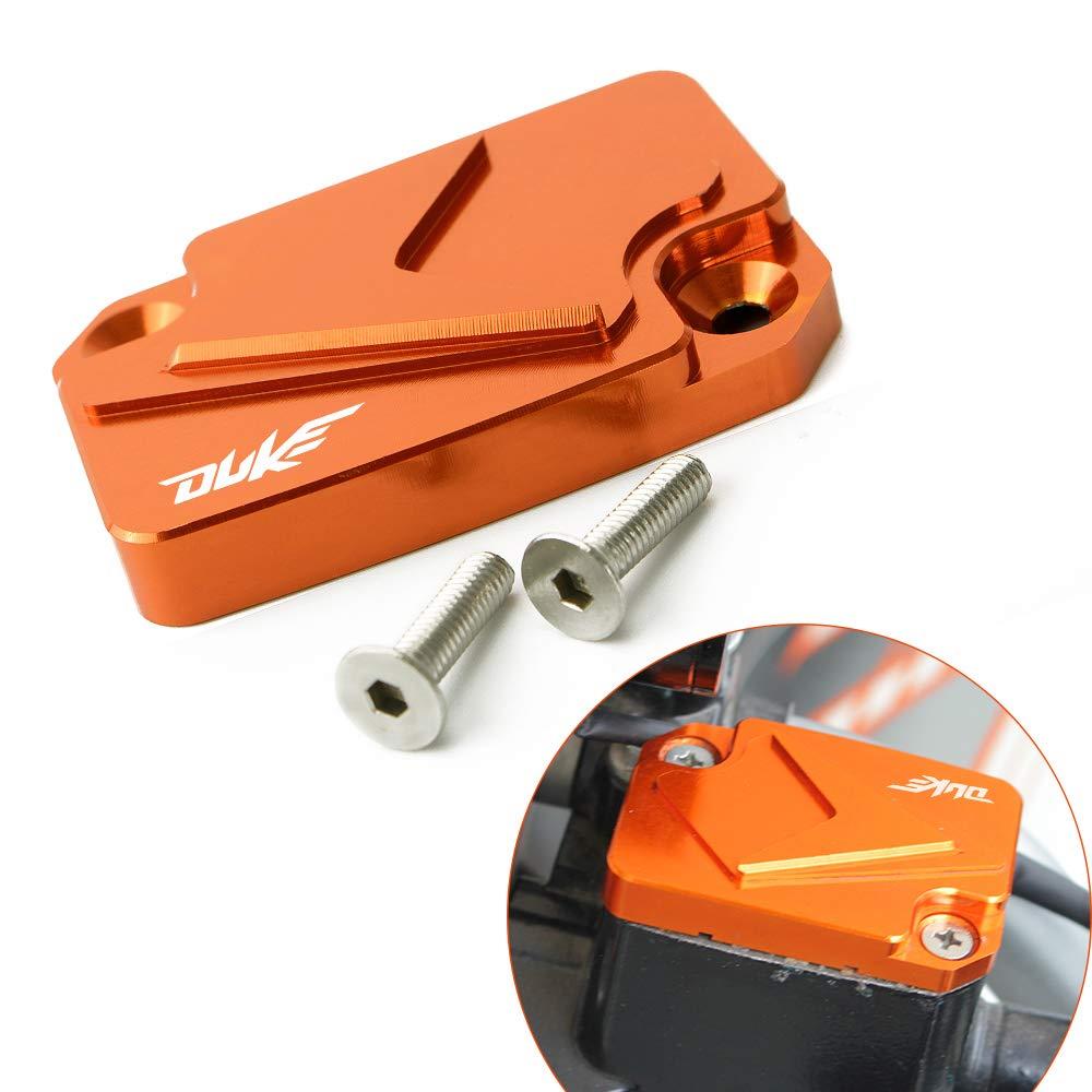 Moto Couvercle de Ré servoir de Frein Avant Front Brake Fluid Reservoir Cap pour Duke 125 200 390 BXMoto KTM DUKE 125 200 250 390